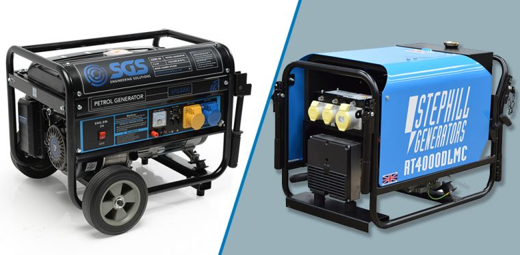 What is Different in Petrol vs Diesel Generator